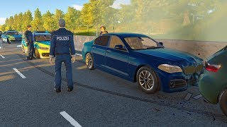 Autobahn Police Simulator 2 - Serial rock thrower