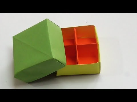 DIY|BEAUTIFUL PAPER BOX|LEARN TO MAKE PAPER BOX|No glue No scissors-Learn IN JUST 3 MINUTES