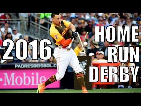 MLB | The 2016 Home Run Derby ᴴᴰ