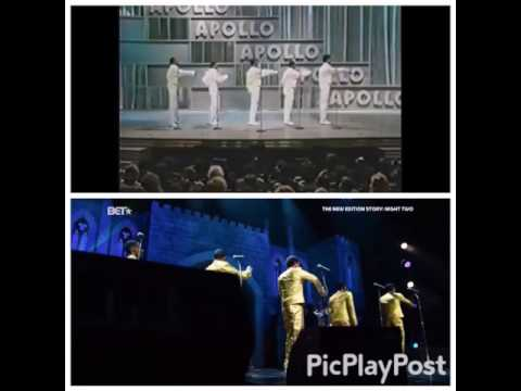 NEW EDITION COMPARISON OF THE CHOREOGRAPHY COOL IT NOW