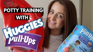 HUGGIES 6 STEPS TO POTTY TRAINING SUCCESS | POTTY TRAINING A THREE YEAR OLD BOY #AD