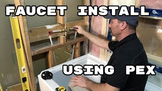 how to install tub shower faucet
