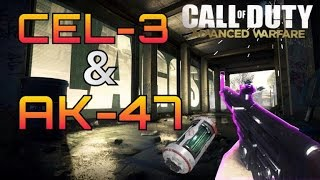 aw stg 44 dna bomb cel 3 energy shotgun and ak 47 assault rifle in advanced warfare multiplayer