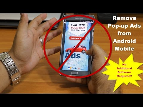 How to remove Popup ads from Android Mobile   100% Free   No tools Required