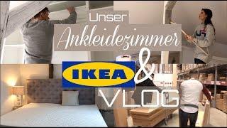 Wir kaufen UNSER ANKLEIDEZIMMER - XXL IKEA VLOG | Dilara Kaynarca