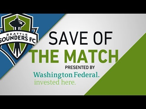 Washington Federal Save of the Match: Stefan Frei denies Tec