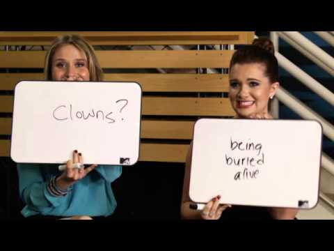 MTV's Faking It Rita Volk, Katie Stevens and Gregg Sulkin BFFShip Test