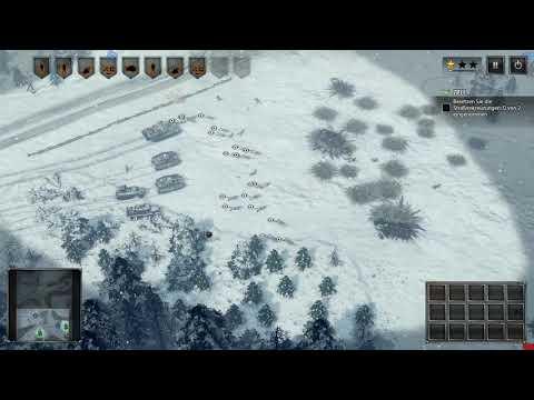 Sudden Strike 4. GamePlay.DE Deutsche Kampagne Mission. 7