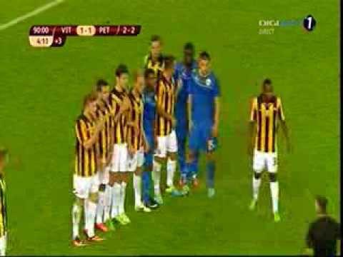 GOL GROZAV (Vitesse vs. Petrolul 1-2) 8/8/2013