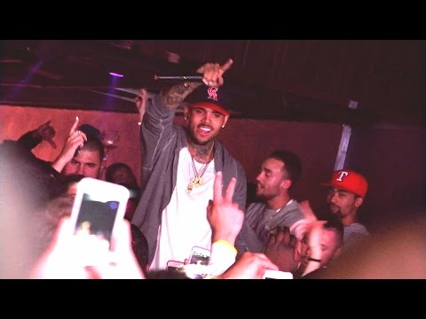 CHRIS BROWN @EnVogue Geneva 2015.05.23