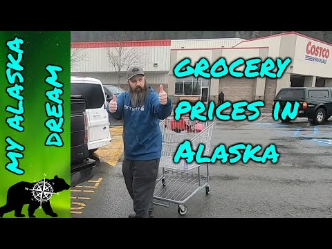 Shopping In Juneau.   How Much Do Groceries Cost In Alaska