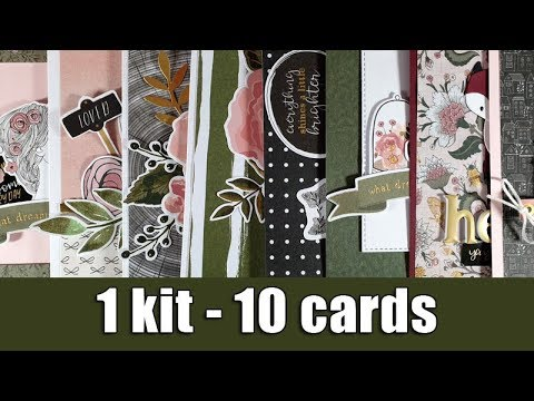 1 Kit - 10 Cards | Spellbinders December 2019 Kit