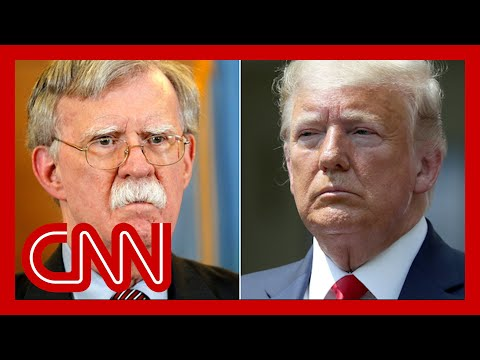 Trump reacts to bombshells from John Bolton's new book