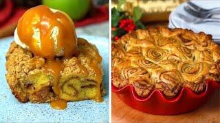 4 Sweet Cinnamon Apple Desserts