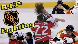 R.I.P NHL Hockey Fighting - Compilation of Best Fights from the Last Decade