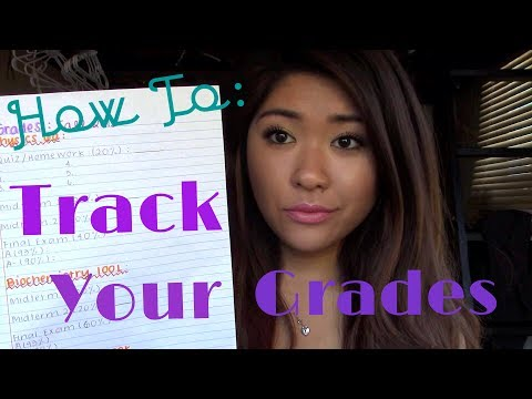 How to Maintain Good Grades In College  TRACKING YOUR GRADES - YouTube