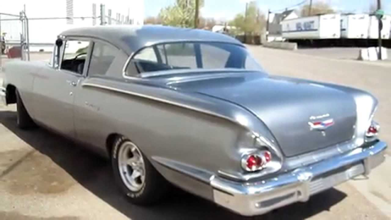 All Chevy 1958 chevy delray for sale : 1958 Chevrolet Del Ray Restored 454 V8 Sleeper - YouTube