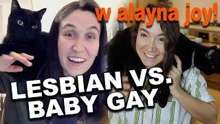 Lesbian vs Baby Gay: Lesbian Dating Advice  (Ft. @MissFenderr)