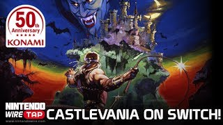 Castlevania & Contra Collections Coming to Switch! | Nintendo Wiretap
