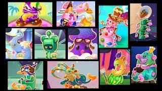 Character On World 150th - 158th (Level 2876-3010) Candy Crush Soda Saga