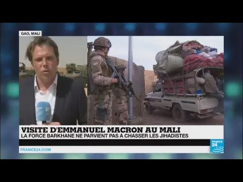 Emmanuel Macron va passer 6 heures à Gao au Mali auprès des militaires français