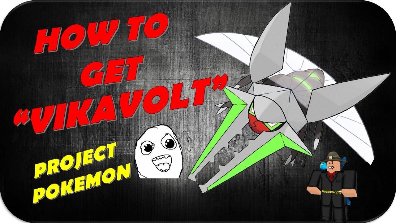 pokemon how to get vikavolt