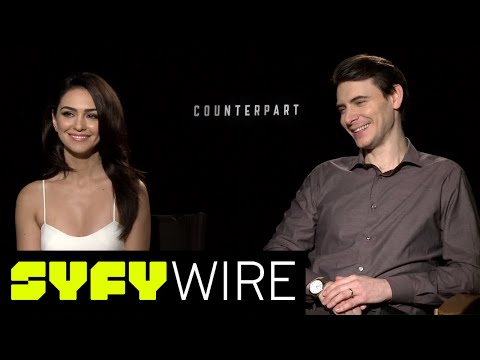 Counterpart Actors On Working With Parallel Dimensions  SYFY WIRE