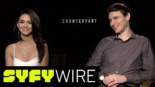 Counterpart Actors On Working With Parallel Dimensions | SYFY WIRE