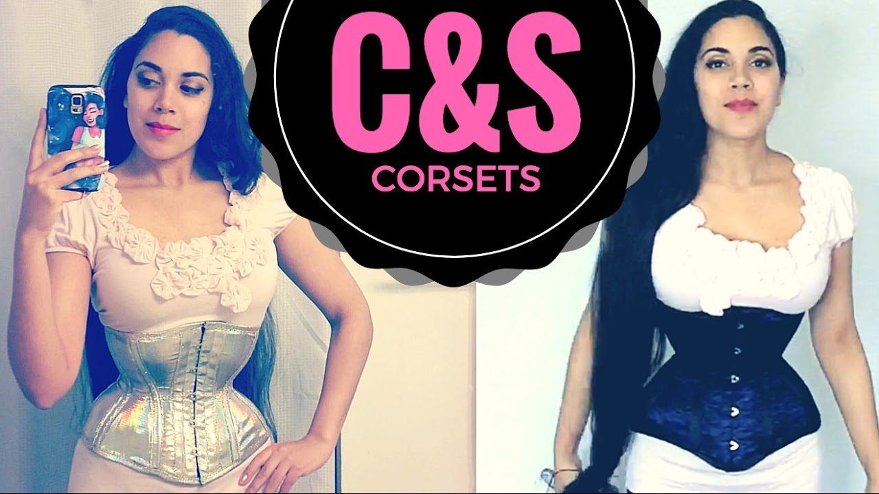 87d05792a2 RAINBOW HOLO CORSET! TWO C S Constructions Corsets (Review   Study ...