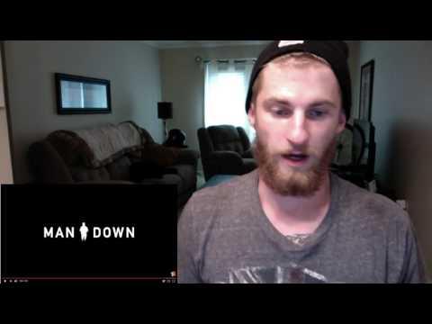 Man Down Official Trailer- REACTION