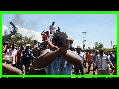 Kenya's disputed presidential election spills into chaos and could lead to violence