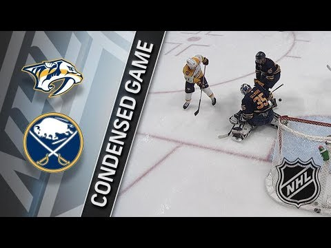 Nashville Predators vs Buffalo Sabres – Mar. 19, 2018 | Game Highlights | NHL 2017/18. Обзор