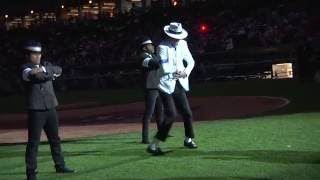 Chicago White Sox | Michael Jackson Tribute | Ed Hollis as MJ
