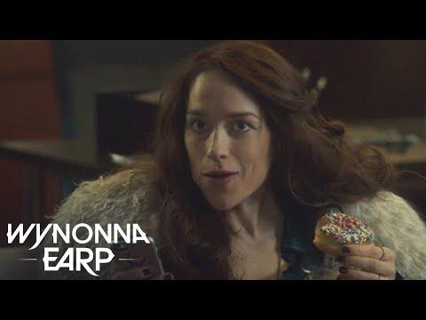 WYNONNA EARP  The Cast    As Doughnuts  SYFY