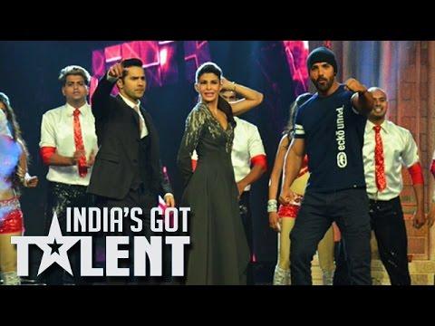 India's Got Talent 7 FINALE   Varun Dhawan, Jacqueline, John Abraham   Dishoom Promotion