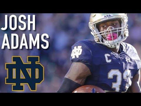 Josh Adams || Official Notre Dame Highlights ᴴᴰ