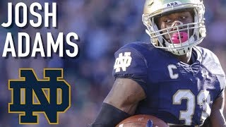 Josh Adams || Official Notre Dame Highlights ᴴᴰ