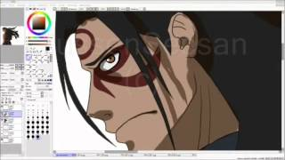Speed Painting: Hashirama Senju [First Hokage]