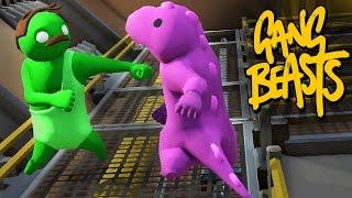 ПОЛНЫЙ УГАР ► Gang Beasts |3|
