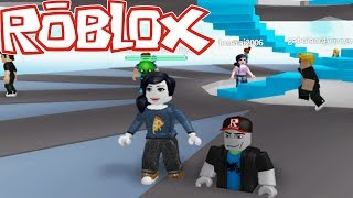 TRYING TO SURVIVE! ROBLOX WITH MAZAFESIA! #2!