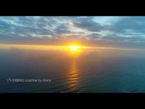 Overberg coastal region by drone - 4k