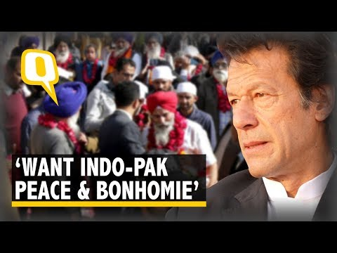 Kartarpur Corridor: Imran Khan Wants Civilised Ties With India, Kashmir Issue Resolved | The Quint