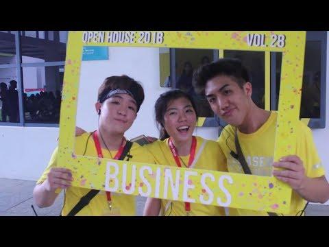 Temasek Polytechnic Business School Open House 2018