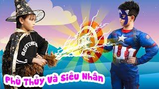 Siêu Nhân Nhí Và Phù Thủy Tham Ăn ♥ Minh Khoa TV