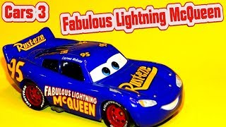 Cars 3 Fabulous Lighting McQueen Unboxing Finally