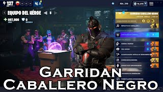 Hero Team Garridan Black Knight In Fortnite Save The World