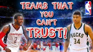10 NBA Teams that ALWAYS Seem to Let us DOWN!
