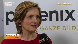 SPD-Parteitag: Interview mit Simone Lange am 22.04.2018