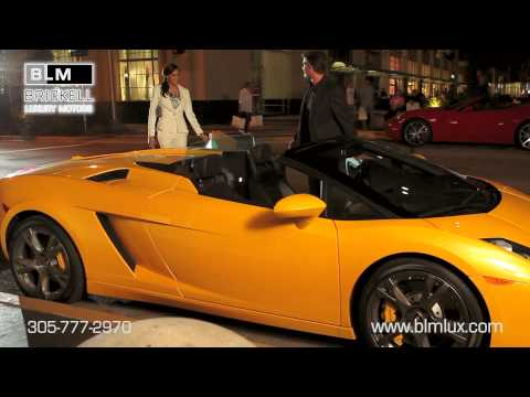 Hot Sports Cars In Miami From Brickell Luxury Motors
