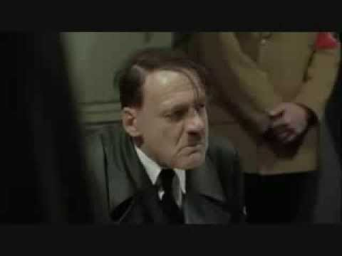 Hitler finds out the Nelson Rock Bar, Sheffield has closed